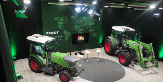 Conception du plateau TV Fendt