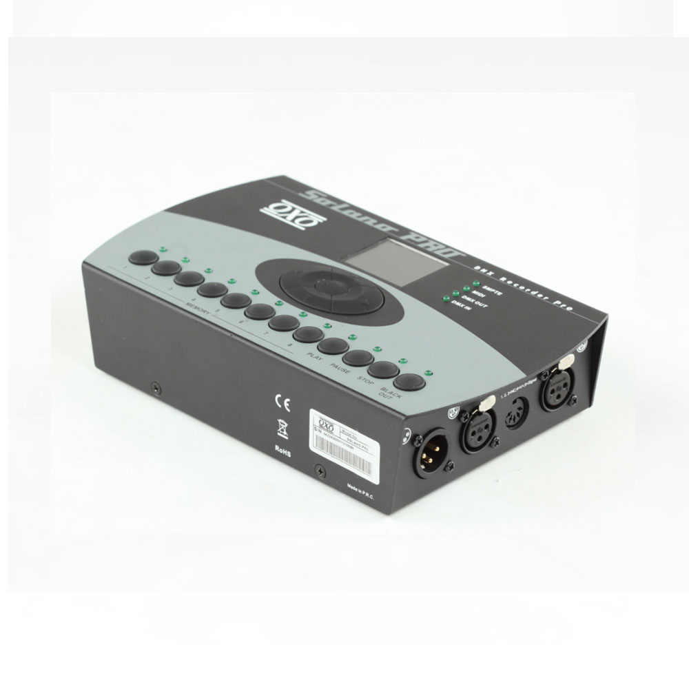Enregistreur DMX OXO SOLANO Pro